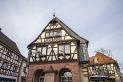 taunusby Tyskland för hofheim f.m. arkivfoto