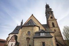 taunusby Tyskland för hofheim f.m. arkivbild