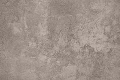 Taupe Abstract Grungy Decorative Texture. Rough Old Stucco Wall Vintage style Background. Handmade Sepia Beige Paper With Copy Space Royalty Free Stock Images