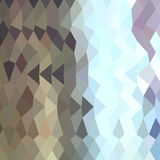 Taupe Abstract Low Polygon Background. Low polygon style illustration of a taupe abstract background Royalty Free Stock Photos