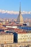 Taupe Antonelliana à Turin photographie stock