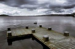 taupo λιμνών Στοκ Φωτογραφία
