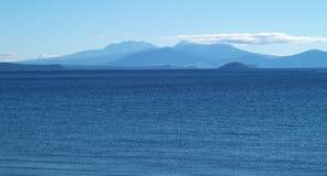 taupo озера Стоковая Фотография