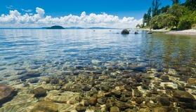 湖taupo 免版税库存图片