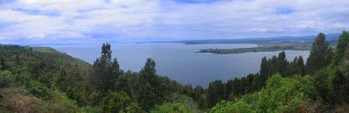 Taupo del lago Imagenes de archivo