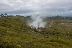 Taupo geotermiczny park Obraz Royalty Free