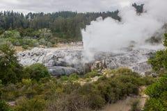 Taupo geotermiczny park Fotografia Royalty Free