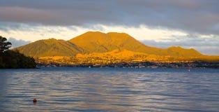 Taupo, ilha norte, Nova Zelândia Fotos de Stock