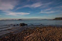 Taupo jezioro Zdjęcie Royalty Free