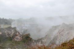 Taupo powulkaniczny termiczny park, Nowa Zelandia zdjęcia royalty free