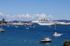 Tauranga hamn Fotografering för Bildbyråer