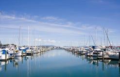 Tauranga Marina 1. Tauranga Marina, New Zealand on a bright clear sunny day Royalty Free Stock Photo