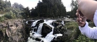 Mclaren Falls New Zealand royalty free stock photos