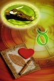 Taureau astrologique de signe Photos libres de droits