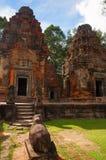 Taureau de Nandi, Prasat Preah Ko, Roluos, Cambodge Vers le 9ème siècle en retard Photo stock