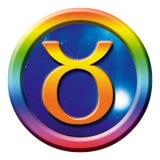 Taureau de signe d'astrologie Photo libre de droits