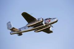 Taureaux B-25 Mitchell de vol Images libres de droits