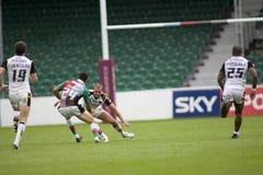Taureaux de la ligue v Bradford de rugby de harlequins Image stock