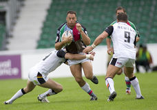 Taureaux de la ligue v Bradford de rugby de harlequins Photos stock