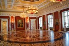 Taurian hall in Palace, Tsaritsino Royalty Free Stock Photo