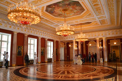 Taurian hall in Tsaritsino Stock Image