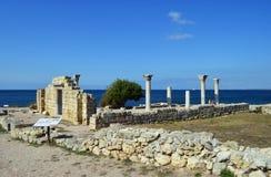 Tauric Chersonesos, Крым стоковое фото