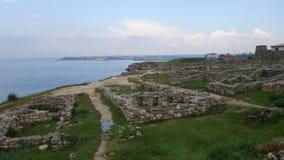 Tauric Chersonesos i Sevastopol royaltyfria bilder