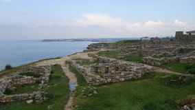 Tauric Chersonesos in Sebastopol royalty-vrije stock afbeeldingen