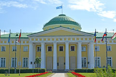 Tauride Palace in a summer sunny day. St. Petersburg.  Stock Image