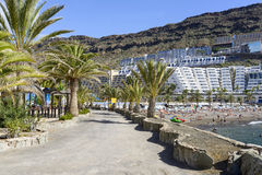 Taurito in Gran Canaria Island Stock Images