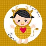 Tauro del zodiaco Imagen de archivo libre de regalías