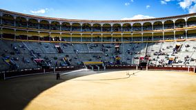Tauromachia a Madrid, Las Ventas fotografia stock