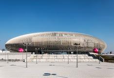 Tauron竞技场在克拉科夫,波兰 免版税库存图片