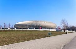 Tauron arena i Krakow, Polen Fotografering för Bildbyråer