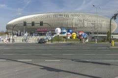Tauron Arena in Krakow, Poland Stock Photography
