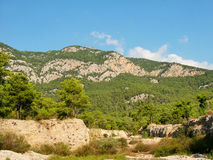 Taurus βουνά και δάσος στην Τουρκία Στοκ Φωτογραφία