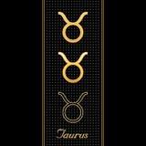 taurus символов horoscope Стоковые Изображения RF