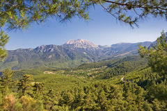 Taurus. Mountains in nature park near kemer, antalya, turkey Stock Photo