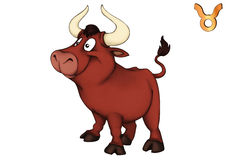 Taurus, Bull, Horoscope, Star Sign Royalty Free Stock Photography
