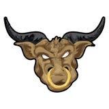 Taurus com trajeto de grampeamento Fotos de Stock