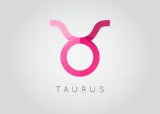 Taurus Constellation. Detailed Stylish Zodiac Icon. Modern Style. Drawing. Vector Illustration vector illustration