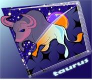 Taurus di Astro Illustrazione di Stock