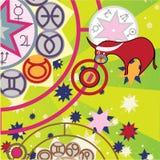 Taurus - ground zodiac sign Royalty Free Stock Photography