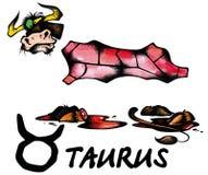 Taurus illustration Royalty Free Stock Image