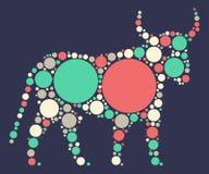 Taurus kształta projekt royalty ilustracja