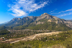 Taurus Mountains. In Goynuk, Turkey royalty free stock photography