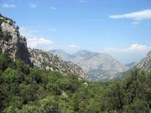 Taurus Mountains. The rugged Taurus Mountains near Termessos Turkey Royalty Free Stock Photography