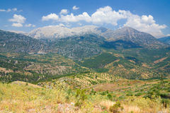 Taurus mountains Royalty Free Stock Photos