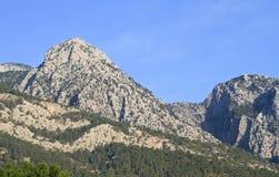 Taurus Mountains. Beautiful Taurus mountains in Turkey stock image