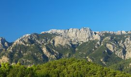 Taurus Mountains en Goynuk imagen de archivo